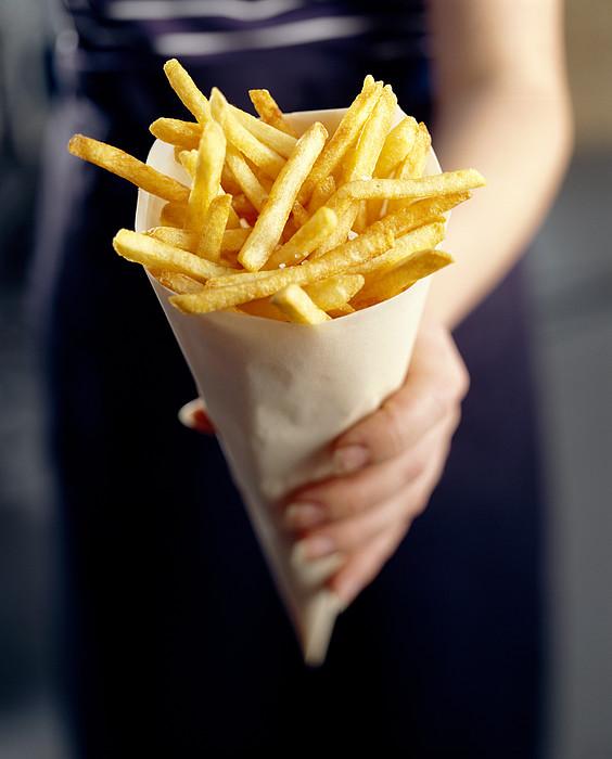 French Fries Print by David Munns