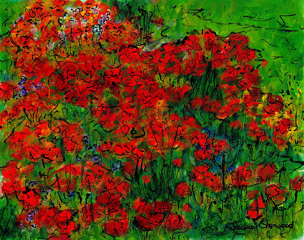 Jackie Sherwood - French Poppies
