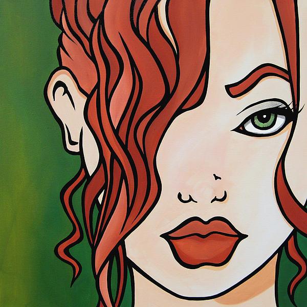 Fresh - Abstract Pop Art By Fidostudio Print by Tom Fedro - Fidostudio