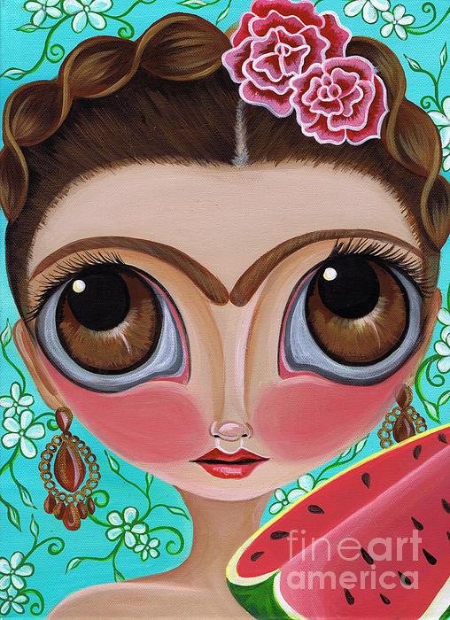 Jaz Higgins - Frida and the Watermelon
