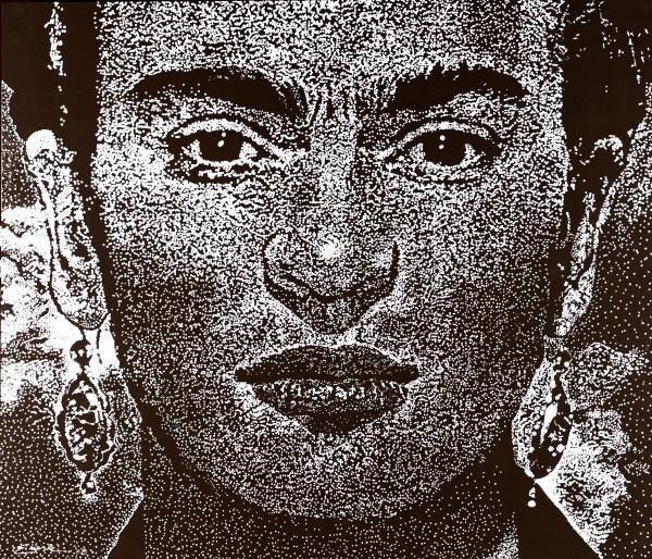 Frida Khalo Print by Max Eberle
