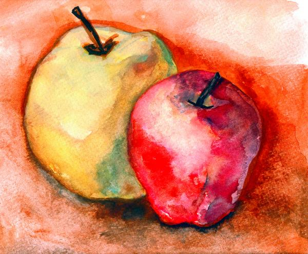 From The Orchards Painting  - From The Orchards Fine Art Print