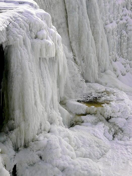 Stephanie Moore - Frozen Rideau Falls