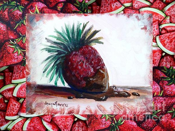 Fruit Fusion Print by Shana Rowe