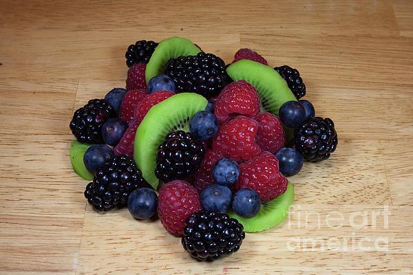 Fruit Mixture 2 Print by Michael Waters