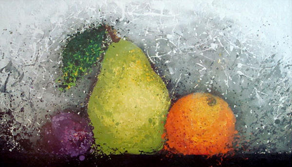 Fruit Mixed Media  - Fruit Fine Art Print