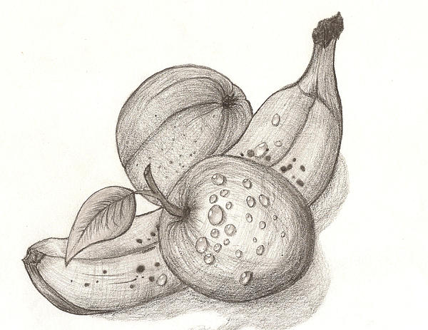 Fruits Print by Gagik Ginosyan