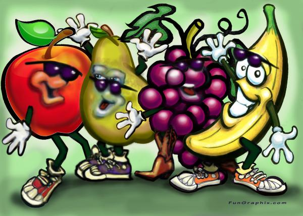 Fruits Print by Kevin Middleton