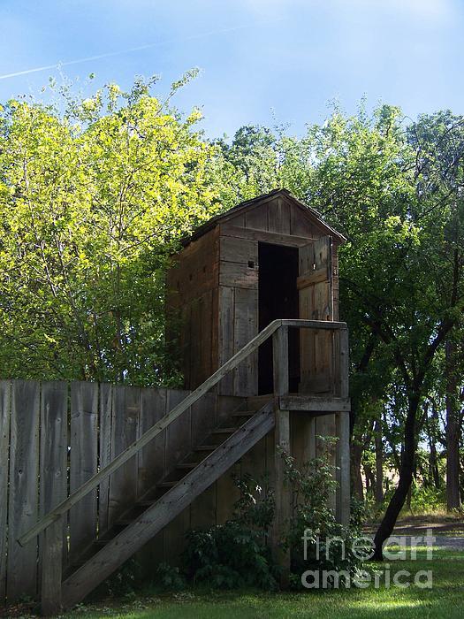 Charles Robinson - Ft Simcoe Mini Blockhouse