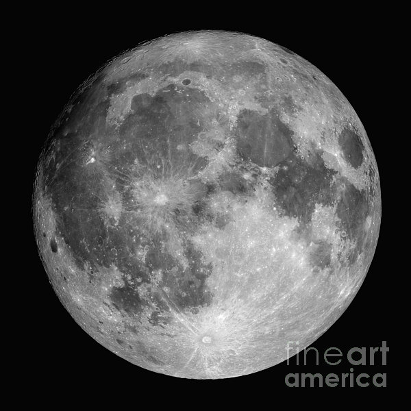 Full Moon Print by Roth Ritter