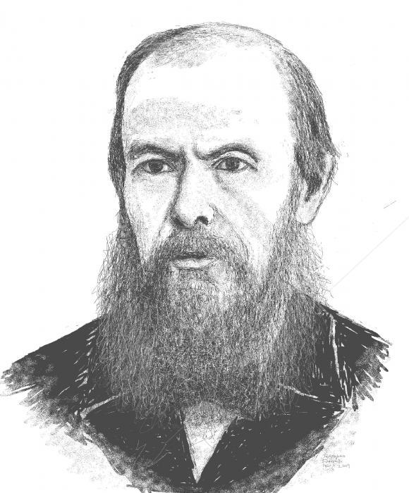 Fyodor Dostoevsky Painting