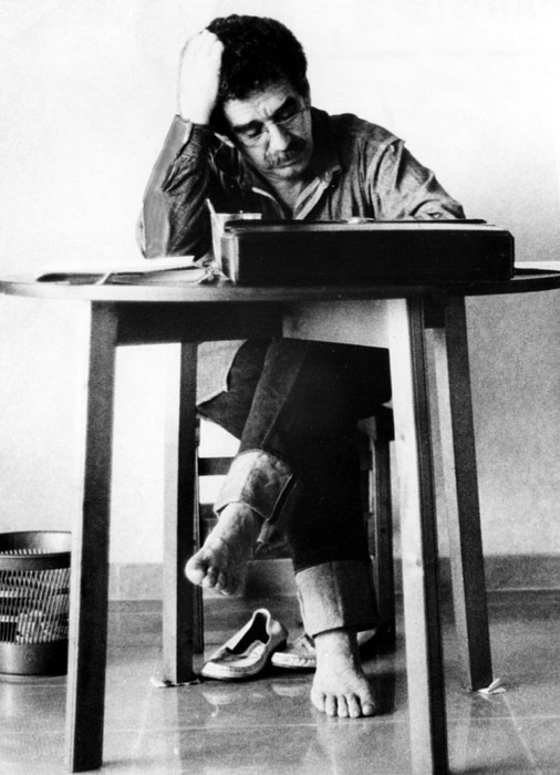 Gabriel Garcia Marquez, Ca. 1970s Print by Everett