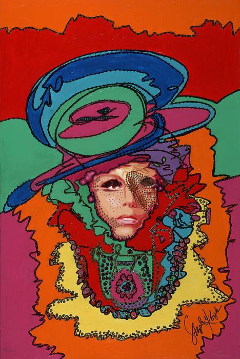 Gaga To The Max Print by Stapler-Kozek