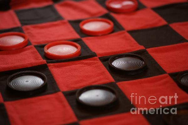 Games Print by Linda Knorr Shafer