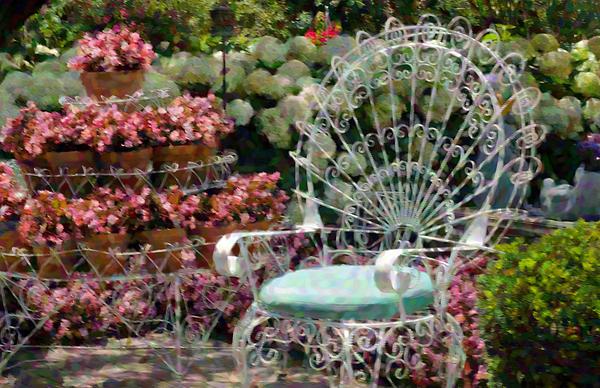 Cheryl Cencich - Garden Chair