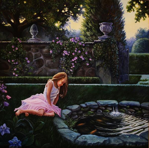 Hillary Scott - Garden Dusk