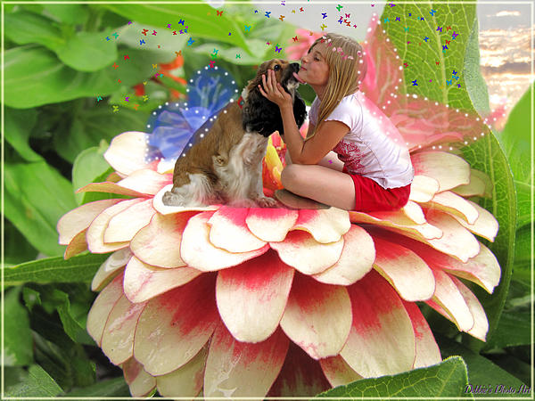 Debbie Portwood - Garden fairy friends  II