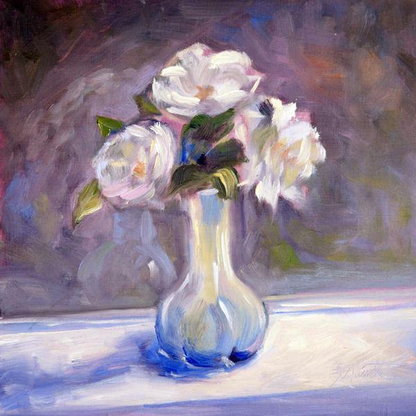 Garden Icebergs Print by Athena  Mantle