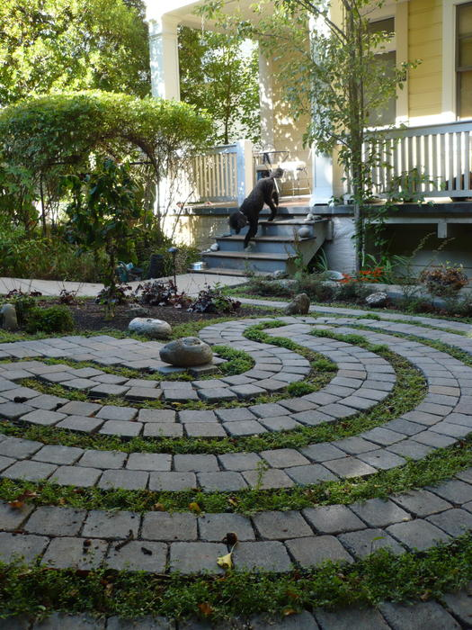 Garden Labyrinth Photograph