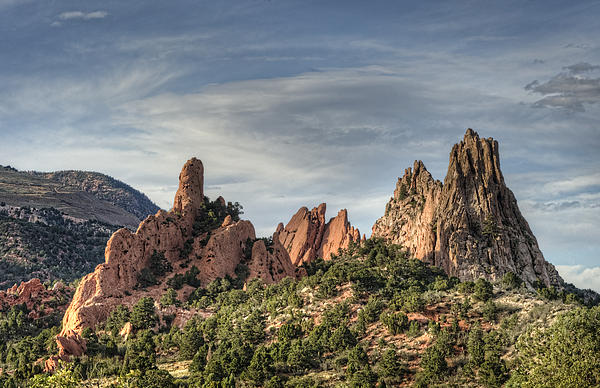 Garden Of The Gods 1 Print by Jim Pearson