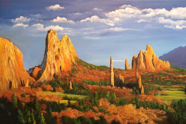 Connie Tom - Garden of the gods