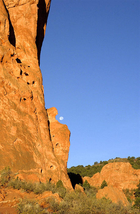 Garden Of The Gods Sunrise Co. Print by James Steele