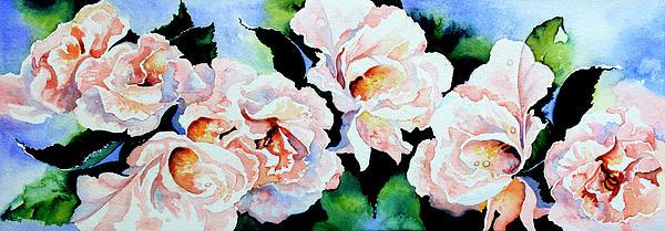Garden Roses Print by Hanne Lore Koehler