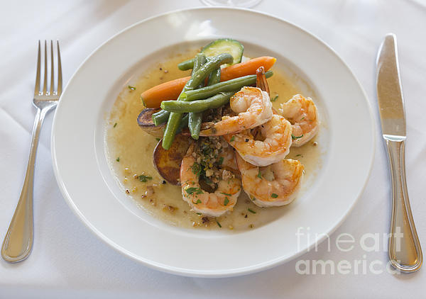 Louise Heusinkveld - Garlic Prawns