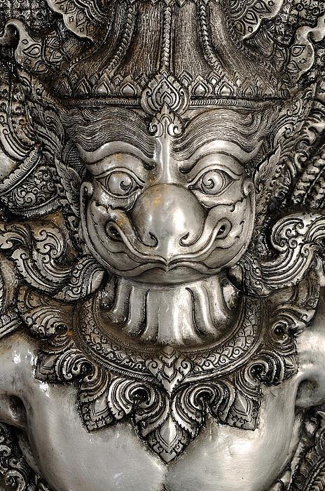 Garuda Silver Print by Panupong Roopyai