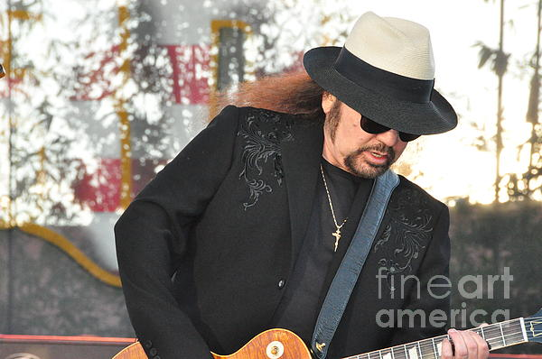 Gary Rossington Lynyrd Skynyrd By John Black