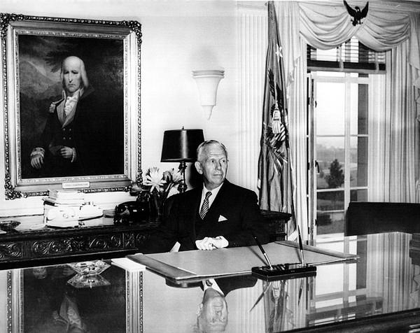 General George C. Marshall As Secretary Print by Everett