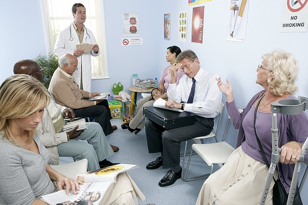 General Practice Waiting Room Print by Adam Gault
