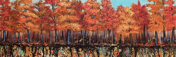 Gentle Autumn Breeze Print by Tammy Watt