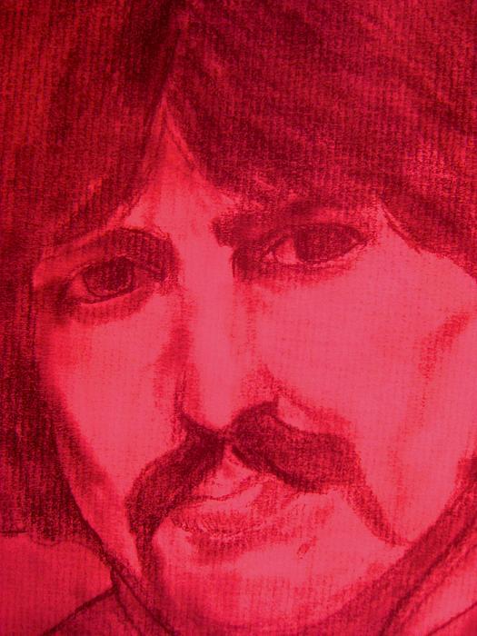George Print by Allen n Lehman