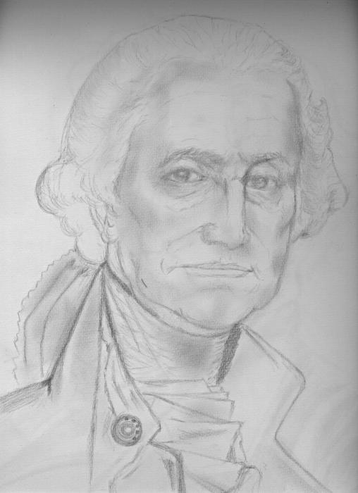 George Washington Drawing