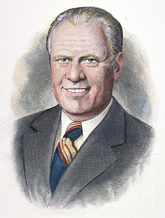 Gerald Ford (1913-2006) Print by Granger