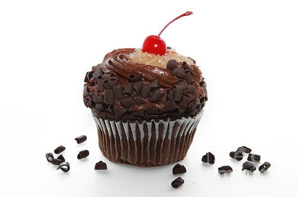 Andee Photography - German Chocolate Cupcake