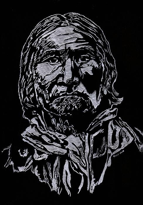 Geronimo Print by Jim Ross