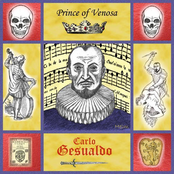 Gesualdo Print by Paul Helm