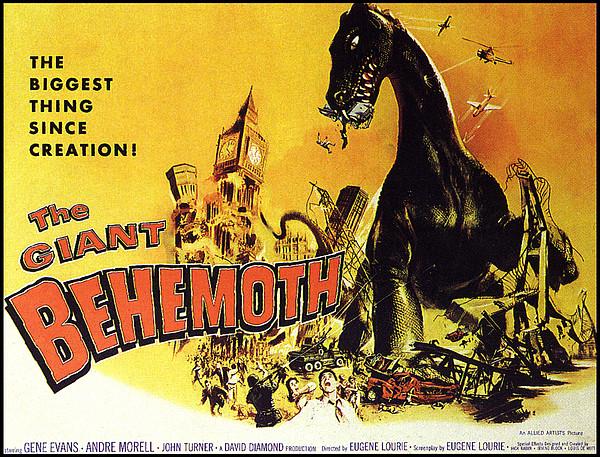 Giant Behemoth, The, 1959 Print by Everett