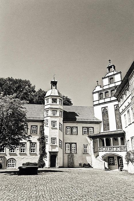 Gifhorn Castle Print by Benjamin Matthijs