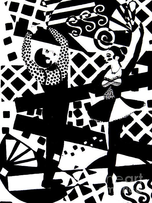 Giocattolo Dancers Print by Forartsake Studio