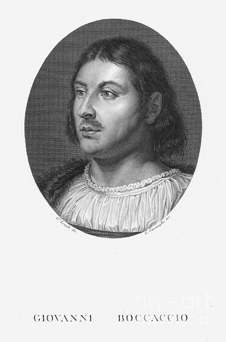 Giovanni Boccaccio Print by Granger