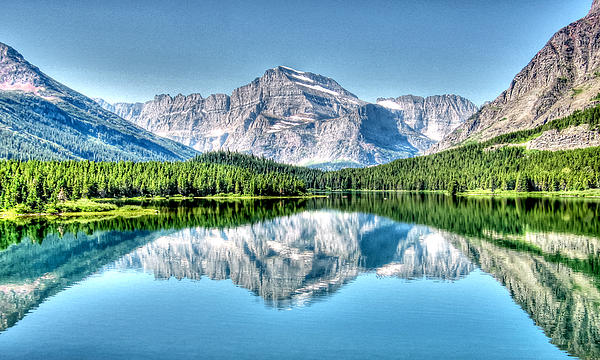 Eileen Brabender - Glacier Park Reflection