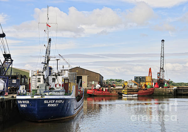 Glasson Dock Print by Jason Connolly