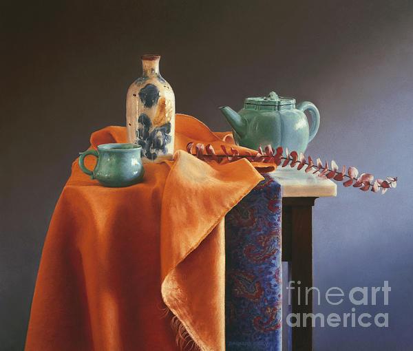 Glazed With Light Print by Barbara Groff