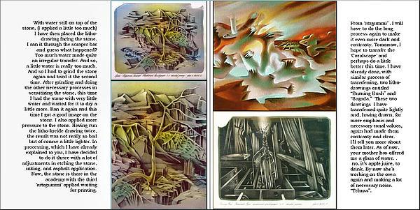 Glenn Litho-diary 1981-85 Print by Glenn Bautista