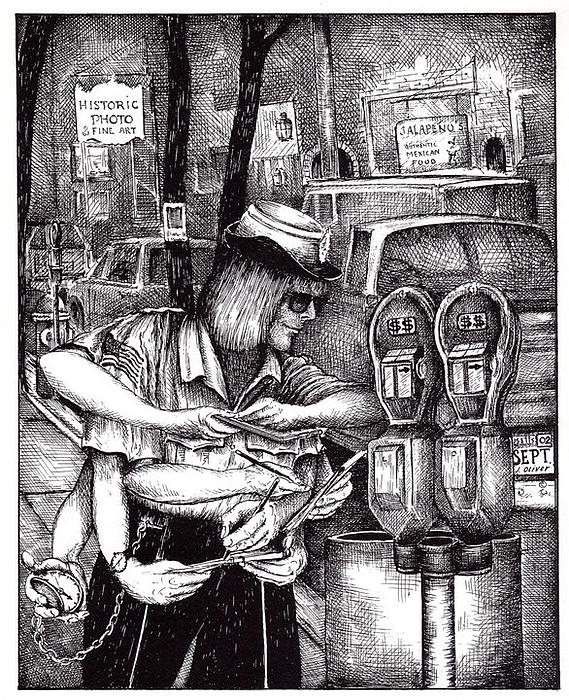 James Oliver - Gloucester Meter Maid