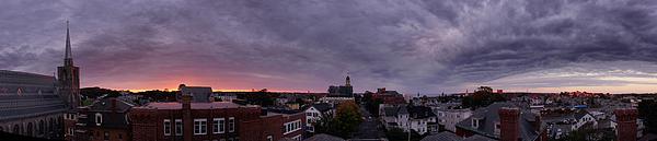 Gloucester Sunrise Panorama Print by Matthew Green