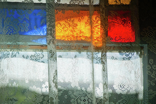 Glowing Lace Print by Christopher Holmes